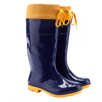 Bota Borracha Azul Amarela