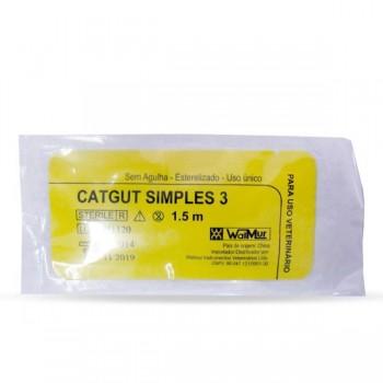 Catgut Simples 3